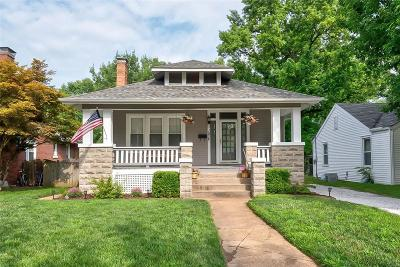 Collinsville Single Family Home Active Under Contract: 107 Kenwood Lane