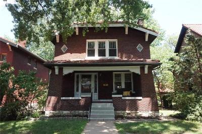 St Louis County Single Family Home For Sale: 6309 Alamo Avenue