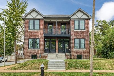 St Louis City County Single Family Home For Sale: 4177 Lafayette Avenue