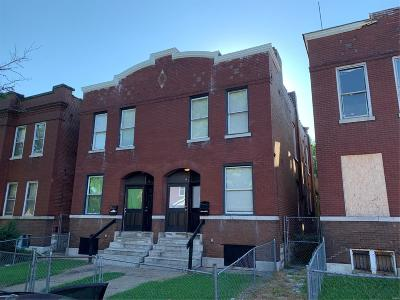 St Louis Multi Family Home For Sale: 3222 Pennsylvania Avenue