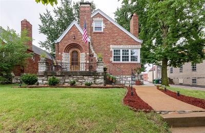St Louis City County Single Family Home Active Under Contract: 5828 Pernod Avenue