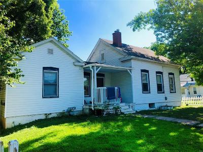 Alton Single Family Home For Sale: 2703 Walnut Street