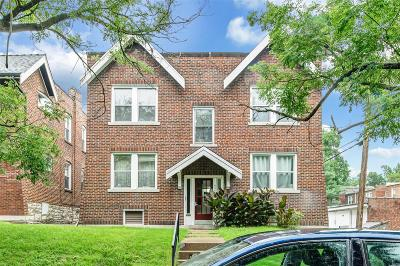 St Louis City County Multi Family Home For Sale: 4445 Russell Boulevard