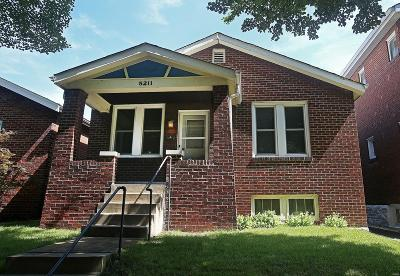St Louis City County Single Family Home For Sale: 5211 Bonita Avenue