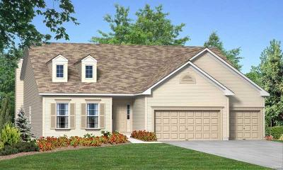 Wentzville Single Family Home For Sale: Rosemont@carlton Glen