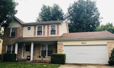 St Louis County Single Family Home For Sale: 3840 Kentucky Derby