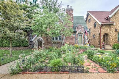 St Louis City County Single Family Home For Sale: 5314 Lindenwood Avenue