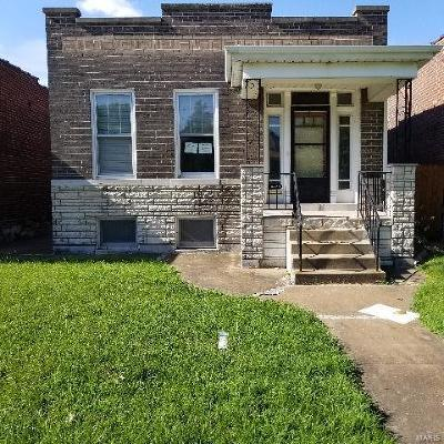 St Louis City County Single Family Home For Sale: 6534 Arsenal Street