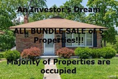 Multi Family Home For Sale: 1153 Wilshire Ave - U City Bundle