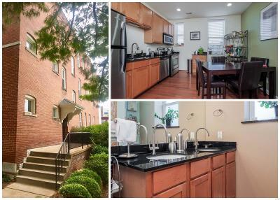 St Louis City County Condo/Townhouse For Sale: 5528 Waterman Boulevard #32