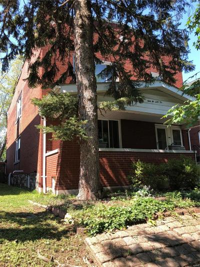 St Louis City County Multi Family Home For Sale: 3662 Dover