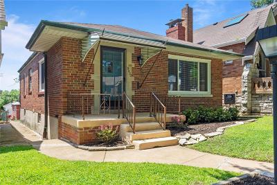 St Louis City County Single Family Home For Sale: 5422 Sutherland Avenue