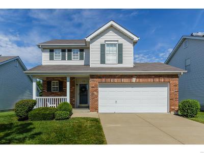 O'Fallon Single Family Home For Sale: 110 Bayhill Village Drive