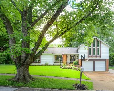 Ballwin Single Family Home For Sale: 494 Maymont Drive