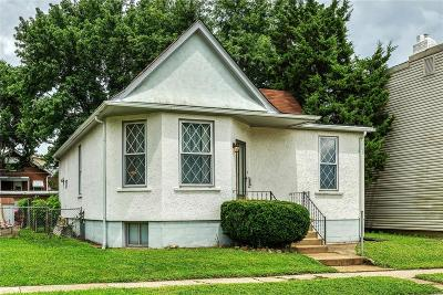 St Louis City County Single Family Home For Sale: 4311 Bates Street