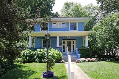 Webster Groves Single Family Home For Sale: 642 Elmwood Avenue