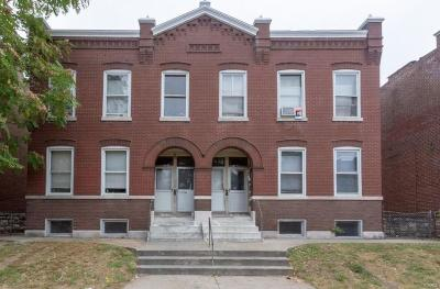St Louis City County Multi Family Home For Sale: 3166 Oregon Avenue