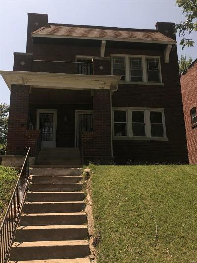St Louis City County Multi Family Home For Sale: 4640 Carter Avenue #2
