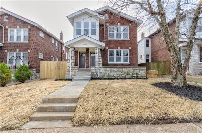 St Louis Single Family Home For Sale: 5034 Winona Avenue