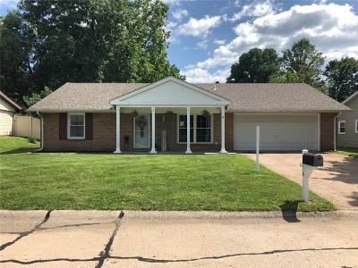 Belleville IL Single Family Home Active Under Contract: $108,500