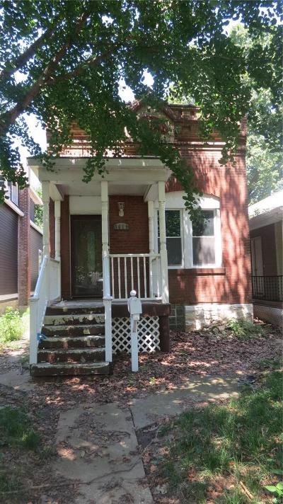 St Louis City County Single Family Home For Sale: 5619 Minnesota Avenue