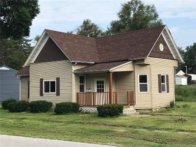 Monroe City Single Family Home For Sale: 319 South Davis Street