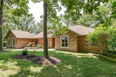 Waterloo Single Family Home For Sale: 7212 Covered Bridge Drive