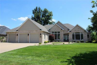 O'Fallon Single Family Home For Sale: 8402 Braeswood Estates Drive
