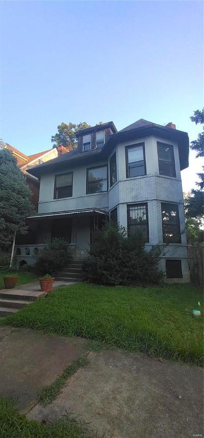 St Louis City County Single Family Home For Sale: 5070 Washington