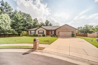 O'Fallon Single Family Home For Sale: 607 Wheatfield Road