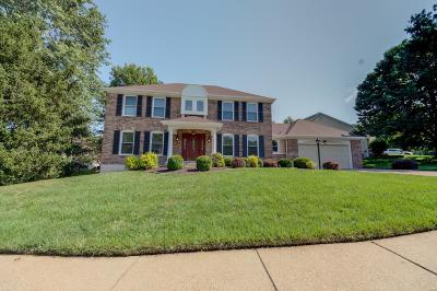 St Louis County Single Family Home For Sale: 222 Timber Tree Court