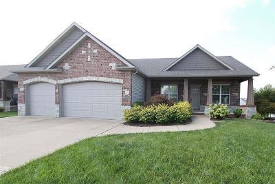 O'Fallon Single Family Home For Sale: 917 Stone Briar Drive