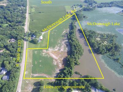 Collinsville Commercial For Sale: Rt 157 & McDonough Lake Rd