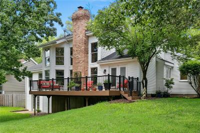 St Louis County Single Family Home For Sale: 2524 Peppermill Ridge Drive