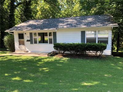 Edwardsville Single Family Home For Sale: 308 M Street