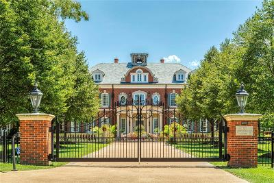 St Louis MO Single Family Home For Sale: $10,900,000
