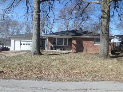 Belleville IL Single Family Home For Sale: $61,200