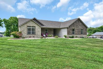 Glen Carbon Single Family Home For Sale: 5958 State Route 162