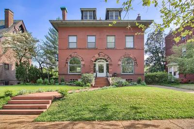 St Louis Single Family Home For Sale: 50 Waterman Place