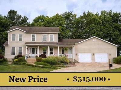Edwardsville Single Family Home For Sale: 1391 Biscay Drive