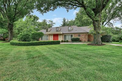 Single Family Home For Sale: 69 East Ladue Estates Drive