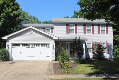 Ballwin Single Family Home For Sale: 1001 Hollybend