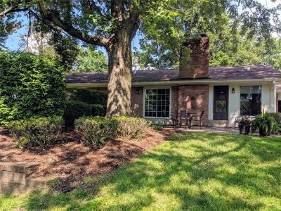 St Louis Single Family Home For Sale: 245 Weybridge Drive