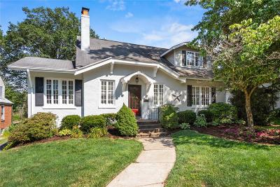 Webster Groves Single Family Home For Sale: 522 Hollywood Place