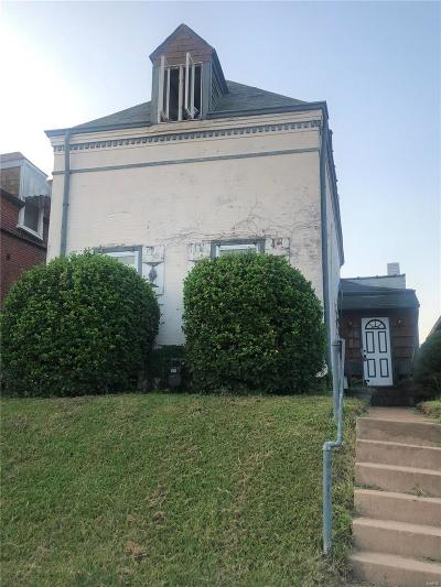 St Louis Single Family Home For Sale: 5029 Shaw Avenue