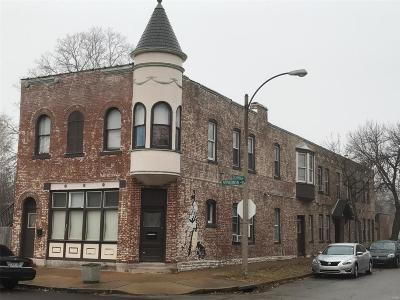 St Louis City County Multi Family Home For Sale: 7701 Virginia Avenue