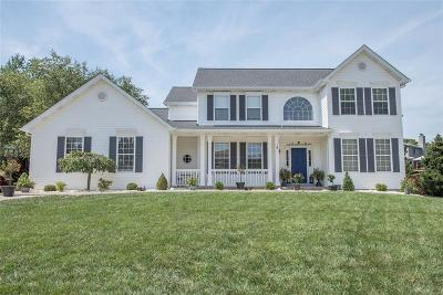 Dardenne Prairie Single Family Home For Sale: 1611 Valley Hill Court