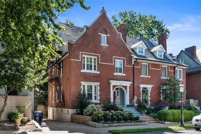 St Louis City County Single Family Home Active Under Contract: 310 North Newstead Avenue