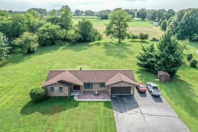 Millstadt Single Family Home Active Under Contract: 30 Morgan Lake