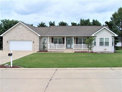 Jerseyville Single Family Home Active Under Contract: 607 Yvette Place